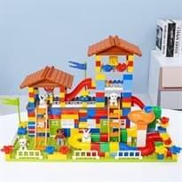 Большой дом из конструктора (232 детали) купить в москве