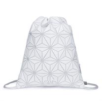 Купить белый рюкзак в треугольники