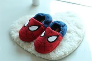 Тапочки с Человеком-пауком (Spiderman) двухцветные купить