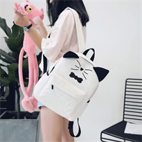 Заказать онлайн корейский рюкзак с ушками котик