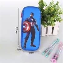 Купить синий пенал марвел Капитан Америка с доставкой