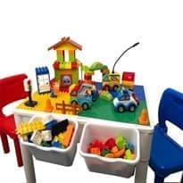 Стол с контейнерами для игры в Лего купить в москве