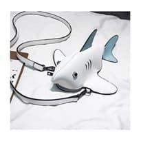Сумочка акула (Цвет белый) купить Москва