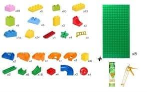 Лего-стена с горками купить в москве