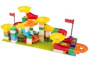Конструктор лего-стена разноцветные горки (160 деталей) купить