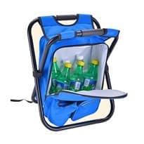 Рюкзак-стул для рыбалки (Цвет Синий) купить