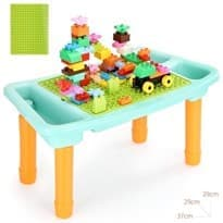 Игровой столик для Лего с конструктором 100 деталей купить в москве