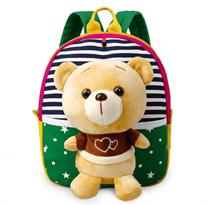 Мини рюкзак мишка зеленый купить с доставкой