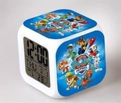 Часы будильник Щенячий патруль (LED) купить в москве
