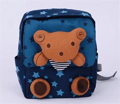 Рюкзак с игрушкой Мишка (Звездный)  купить