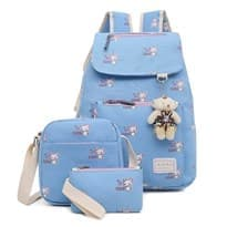 Рюкзак с игрушкой 3в1 (Цвет Голубой) купить Москва