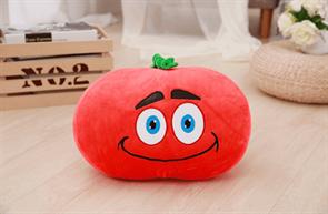 Купить мягкую игрушку подушку томат в Москве
