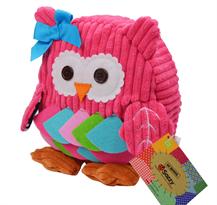 Заказать маленький розовый рюкзак сова с доставкой