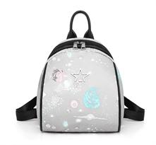 Школьный рюкзак звезды купить в Москве серый