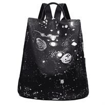Рюкзак женский космос звезды купить в Москве с доставкой черный