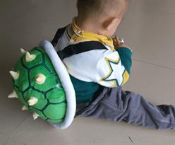 Детский рюкзак черепашка купить с доставкой зеленый с шипами