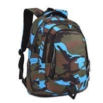Рюкзак PUBG с цветным камуфляжем (Цвет Синий) 44см