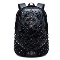 Рюкзак с шипами Лиса (Цвет Черный) купить