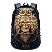 Рюкзак с шипами Сова (Цвет Золотой) купить