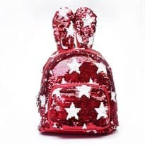 Рюкзак с пайетками (красный) купить