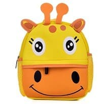 Детский рюкзак Жираф (Цвет Желтый) купить Москва