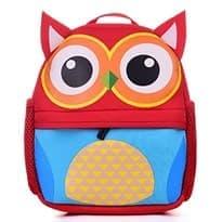 Детский рюкзак Сова (Цвет Красный) купить Москва