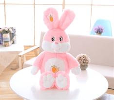 плюшевая игрушка розовый зайка купить в Москве