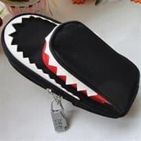 Пенал с замком Челюсти акулы (Цвет Черный) купить Москва