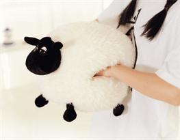 Купить мягкую игрушку грелку Овечка в Москве недорого