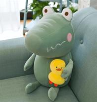 Купить мягкую подушку крокодил в Москве