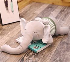 Плюшевая игрушка спящий слон (25 см)  купить