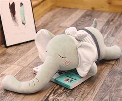Плюшевая игрушка спящий слон (60 см)  купить