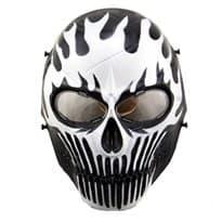 Защитная маска в форме Черепа с огнем купить