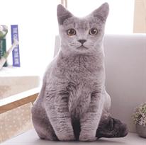 Мягкая игрушка подушка кот купить в Москве