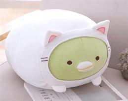 Мягкая игрушка Penguin из аниме Sumikko Gurashi в костюме кошки купить в Москве