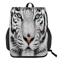 Рюкзак с 3D рисунком Белый тигр купить