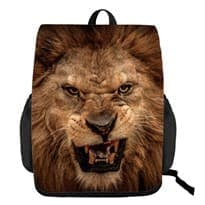 Рюкзак с 3D рисунком Лев купить