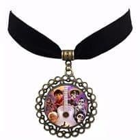 Ожерелье с изображением персонажей из мультфильма Тайна Коко купить Москва