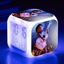 Будильник с подсветкой Мигель из мультфильма Тайна Коко купить