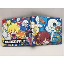 Кошелек с изображением аниме-персонажей из игры Андертэйл (Undertale) купить