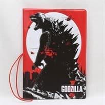Обложка для паспорта Годзилла (Цвет Красный) купить