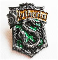 Значок герб факультета Слизерин (Гарри Поттер) купить в Москве