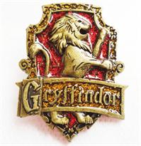 Значок герб факультета Гриффиндор (Гарри Поттер) купить в Москве