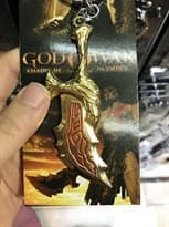 Брелок для ключей Меч Кратоса  из игры God of War (Цвет Золото) купить Москва