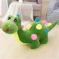 Мягкая игрушка Динозавр (Цвет Зеленый) 50см купить Москва