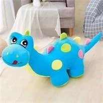 Мягкая игрушка Динозавр (Цвет Голубой) 80см купить Москва