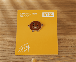 Значок Шуки из мультика БТ21 купить в Москве