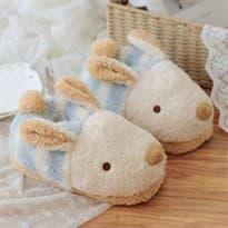 Тапочки Кролики (Цвет голубой) купить Москва