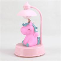 Детская настольная лампа с розовым Единорогом купить в Москве