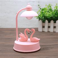 Детская лампа на стол с Розовыми фламинго купить в Москве